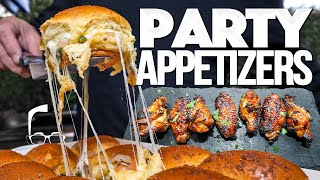 THE ULTIMATE PARTY APPETIZERS | SAM THE COOKING GUY