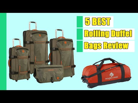 Rolling Duffel Bag: 5 Rolling Duffel Bags in 2020 | Buying Guide