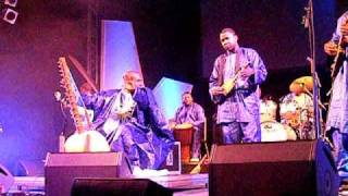 TOUMANI DIABATE at HAY FESTIVAL 2010  (1/6)