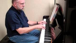Per la Gloria D'adorarvi, Piano accompainment & notes