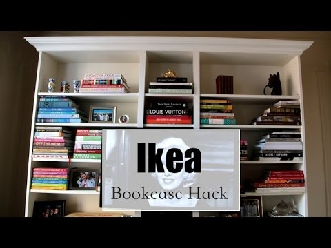 How To Make An Ikea Bookcase Look Expensive Hack