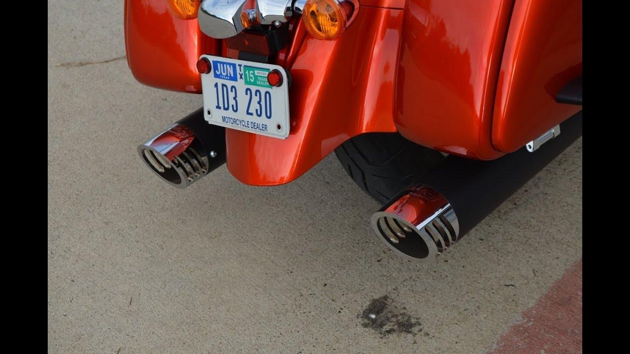 Kawasaki Vaquero Slip On Exhaust