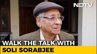 Video Walk The Talk With Soli Sorabjee, Former Attorney General Of India download MP3, 3GP, MP4, WEBM, AVI, FLV Januari 2018