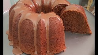 How to make a Chocolate Pound Cake from scratch