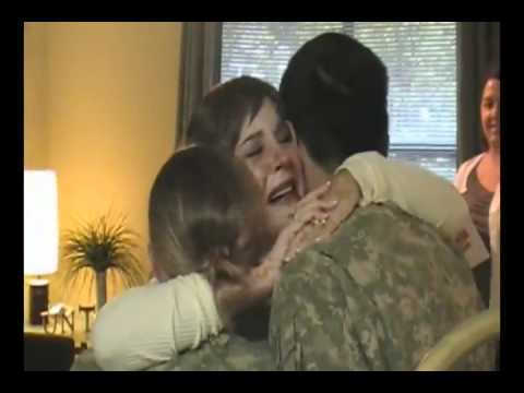 Surprised ! :) Soldiers come back home for Love, Miss & Hug
