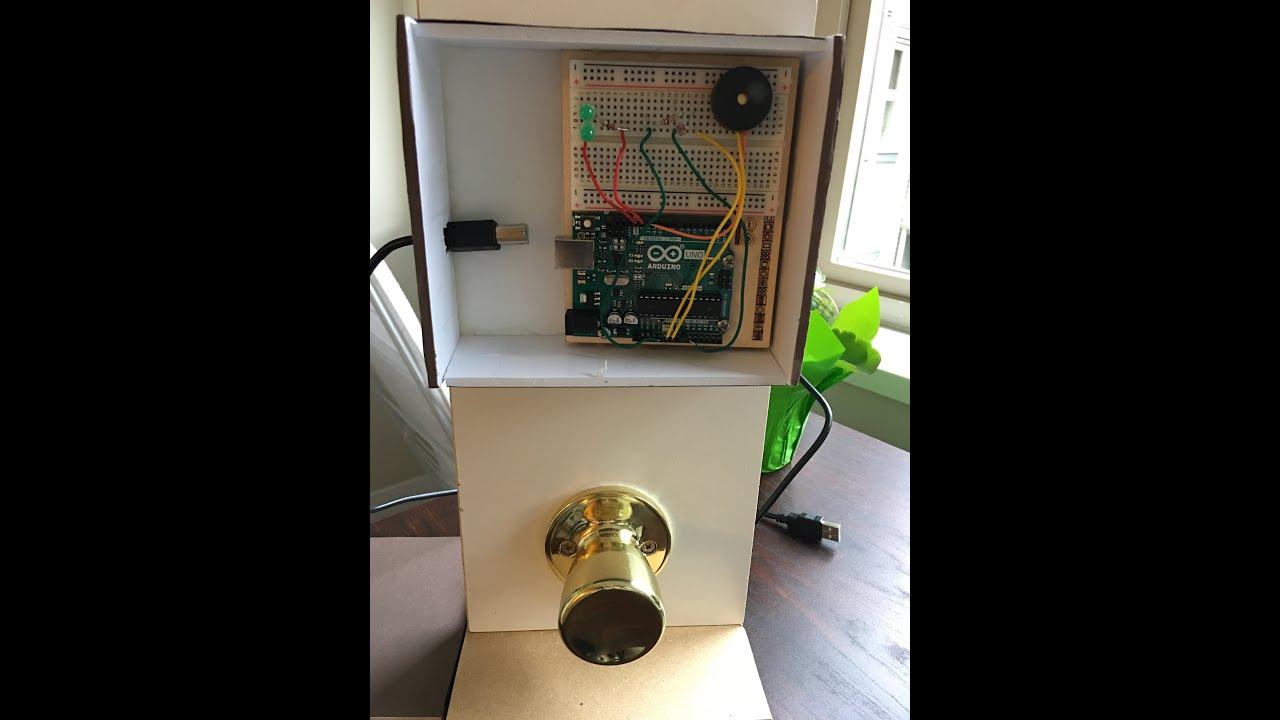 A Demo Video for Interactive door lock demo video