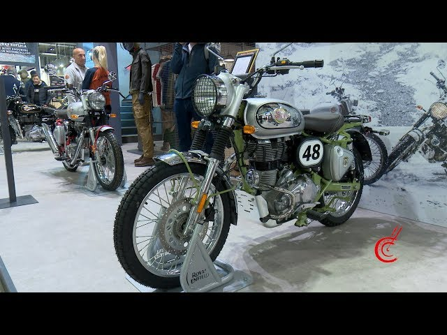 EICMA 2019 - Stand Royal Enfield