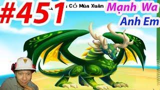 ✔️ Đại Ca Học Đường Dragon City HNT chơi game Nông Trại Rồng HNT Channel New 451