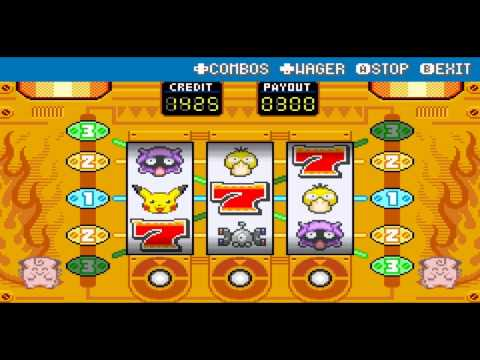 Pokemon fire red slot machine glitch