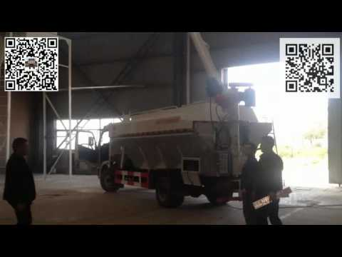 Bulk poultry feed transport truck How-to video 2