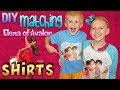 Surprising My Brother with DIY Matching Elena of Avalor Shirts