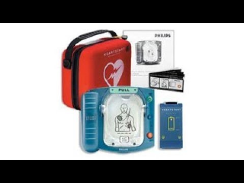 Philips HeartStart OnSite AED Defibrillator Kit - New