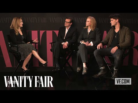 "Nicole Kidman, Jeremy Irvine, & Colin Firth on ""The Railway Man"" at TIFF 2013  Vanity Fair"