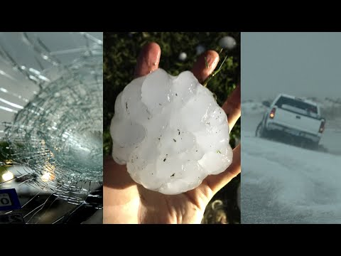Thumbnail: Hail Storm Freaks of Nature & largest hail stone ever recorded recreation