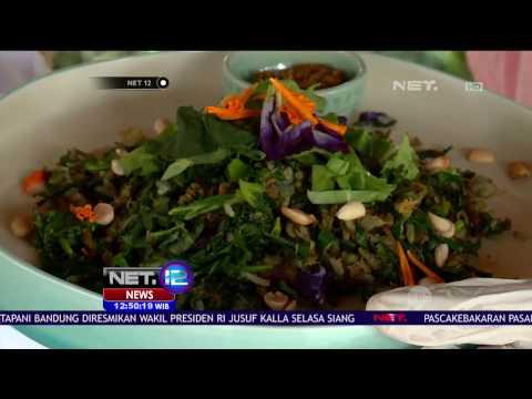 Lezatnya Mencicipi Kuliner Sehat Ala Herb Library Ubud, Bali - NET 12