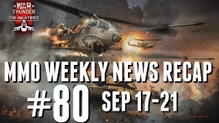 MMO Weekly News Recap #80 | ESO Summerfall, AION's Masive Update and More!