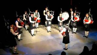 Pipes & Drums of The 1st Royal Engineers - Steam Train to Mallaig, Stockholm 21.10.10