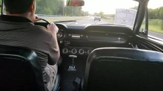 1965 Mustang Test Drive