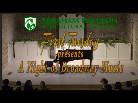 First Tuesday A Night of Broadway