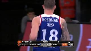 04.04.2019 / Anadolu Efes - AX Armani Exchange Olimpia Milan / Adrien Moerman