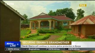 Barack Obama's grandmother to continue receiving police protection in Kenya