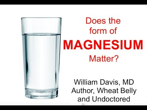 Does The Form Of Magnesium Matter?