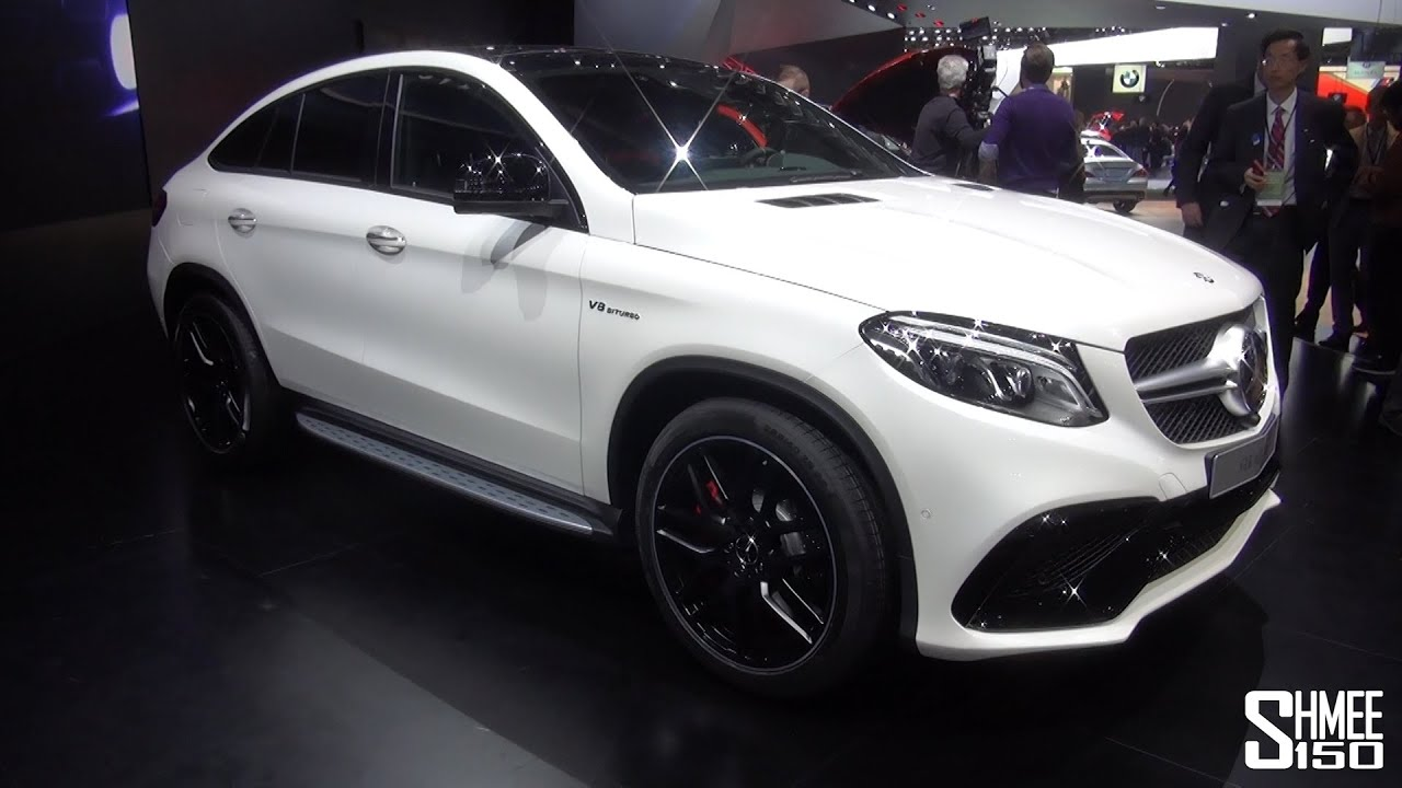 World Debut Mercedes Gle 63 Coupe Naias 2015 Youtube