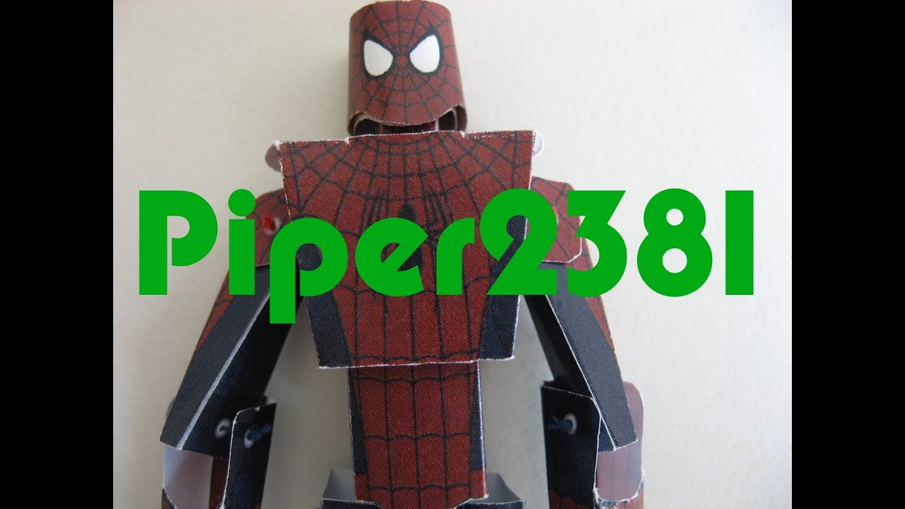 Papercraft Spiderman Papercraft
