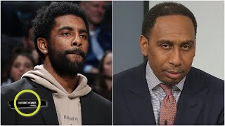 Stephen A. not happy with Kyrie Irving calling out Nets