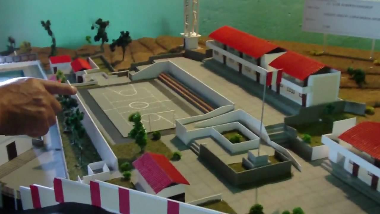 Maqueta colegio luis a sanchez ongoy chincheros - Como hacer una maqueta de una casa ...