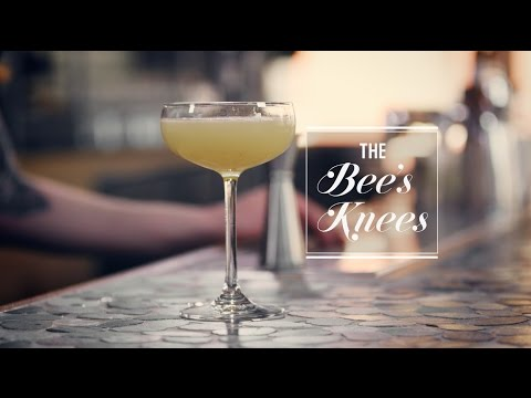 How to make the classic Bee's Knees cocktail
