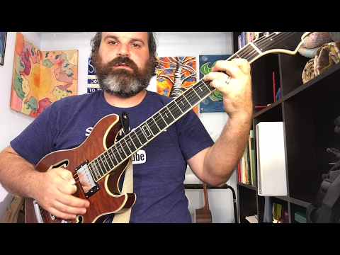 Grab your guitar, tension and release in the pentatonic (Replay from Live Feed)