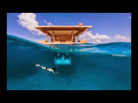 El manta resort hoteles bajo el agua youtube for Imagenes de hoteles bajo el agua