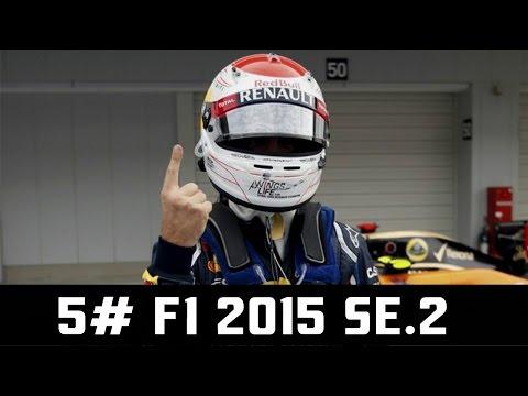 5# F1 2015 Se.2 ► Špatný vtip ? ► VC Barcelona ► Redbull Team ► Thrustmaster T300 F1 Addon