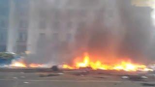 Ukraine War - Russian subversives HQ is set on fire in Odessa Ukraine
