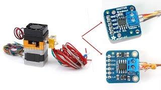 RAMPS 1 4 + MAX 6675 + FULL GRAPHIC SMART CONTROLLER + MÄRLIN