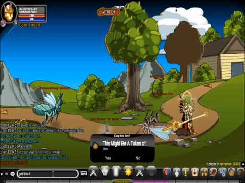 AQW how to get vindicator of they class
