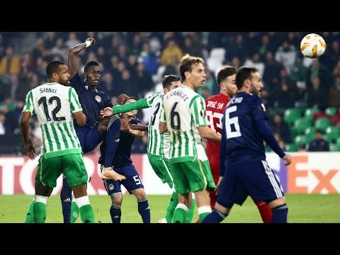 Highlights: Ρεάλ Μπέτις - Ολυμπιακός 1-0 / Highlights: Real Betis - Olympiacos 1-0