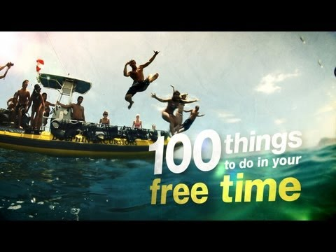 100 things to do in your free time (ages 18-24)
