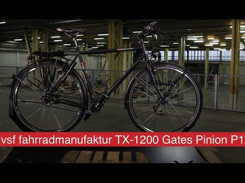 VSF FAHRRADMANUFAKTUR TX-1200 GATES PINION P1 - 2016