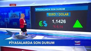 Dolar, Euro ve Altın Bugün Ne Kadar ? | Ekonominin Dili | 14 Ağustos 2018
