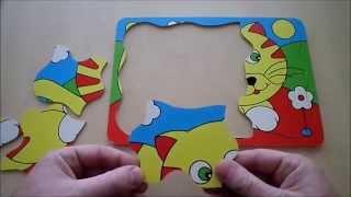 Rompecabezas perro y gato - dog and cat puzzles