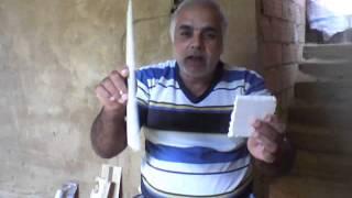 Aprenda com Amin como fazer moldes de molduras de gesso
