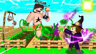 CACAT Ve EMAD ÇARP LD  - SİHİRLİ TARLA 1 BÜYÜCRAFT - Minecraft
