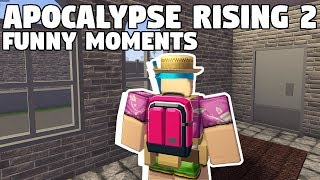 APOCALYPSE RISING 2 - EXPLORING!!! | FUNNY MOMENTS (ROBLOX)