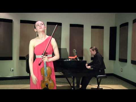 Ariel Horowitz: Bruch Violin Concerto (mvts. 1 and 2)