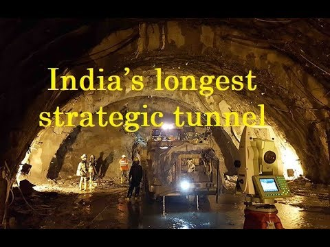 Construction of India's longest strategic tunnel almost over – All weather access to Lahaul Spiti