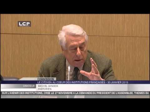 Travaux de l'Assemblée nationale - Audition sur le référendum