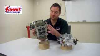Carburetor Selection & What a Carburetor Does - Summit Racing Quick Flicks