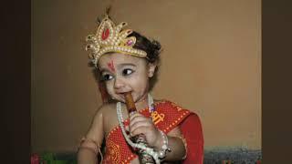 Cute #Atharva as a #little #Krishna